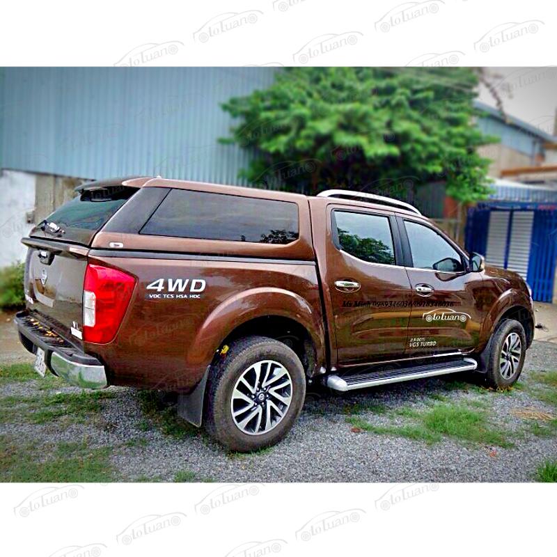 Nắp thùng cao Nissan Navara