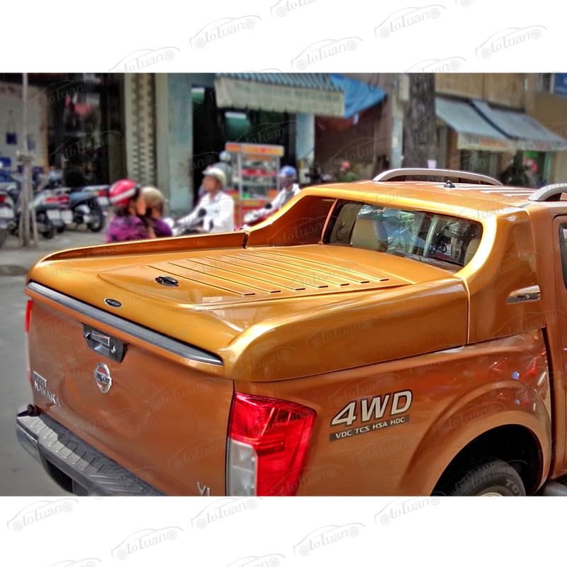 Nắp thùng thấp thể thao cho xe Nissan Navara