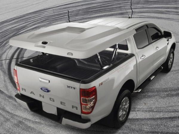 Nắp thùng xe ford ranger mở 180 độ