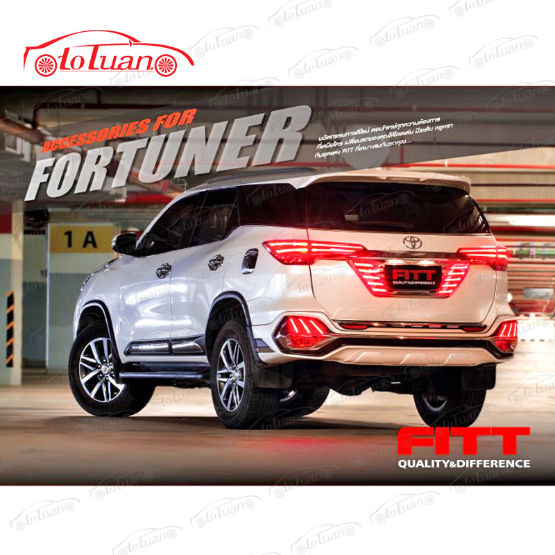 ốp body sau fortuner 2018