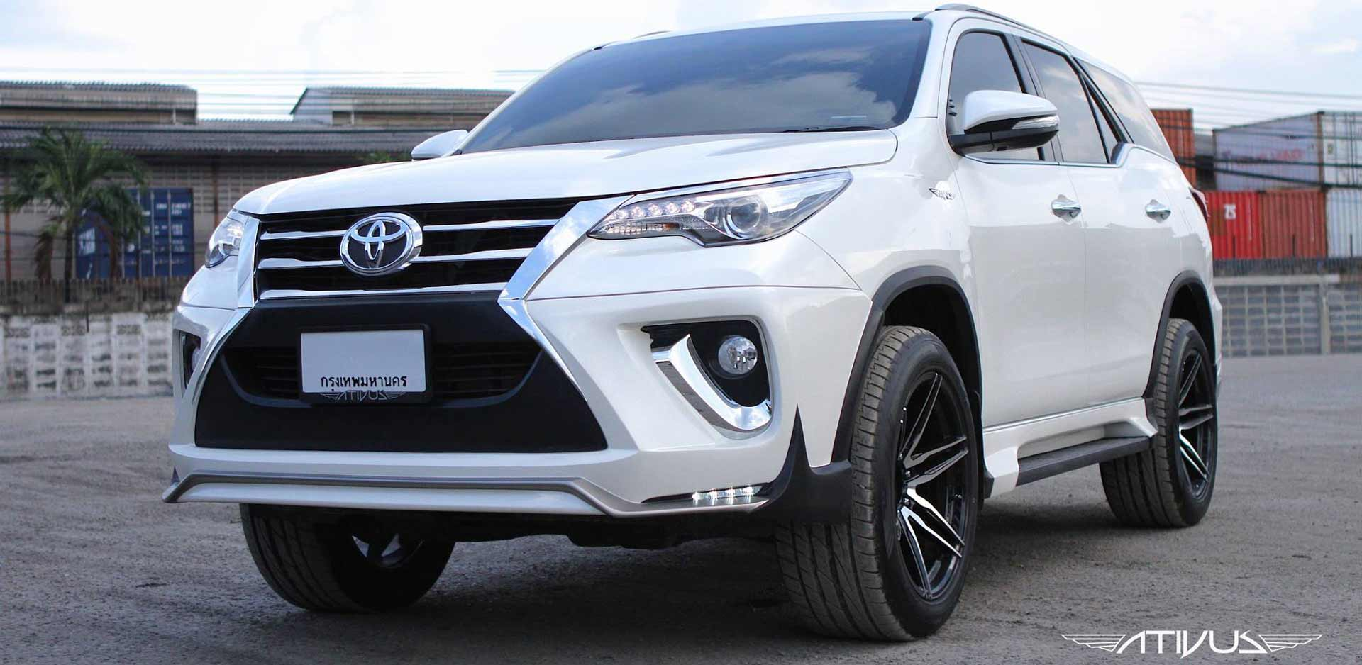 body kit fortuner ativus 2017