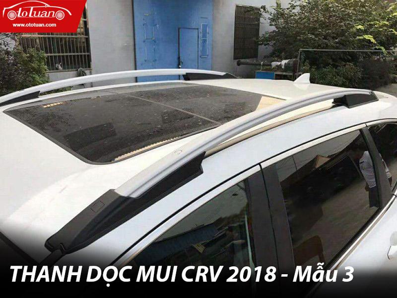 Mẫu baga thanh dọc mui xe CRV 2018 - Mẫu 03