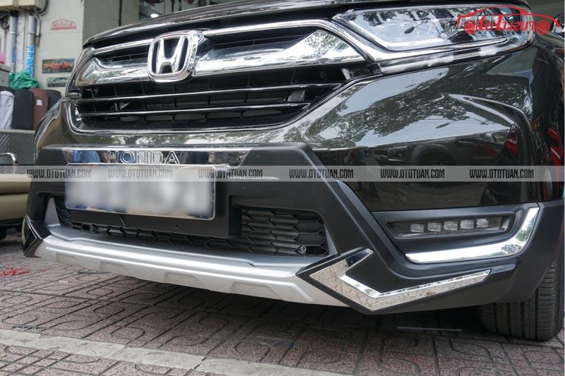 Ốp cản trước xe Honda CRV 2019