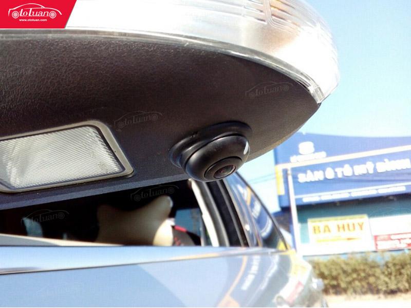 camera 360 độ cho ô tô dưới gương