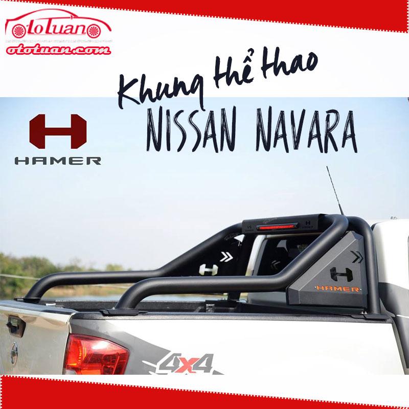 khung thể thao hamer Nissan Navara