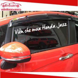 Viền che mưa Xe Honda Jazz`