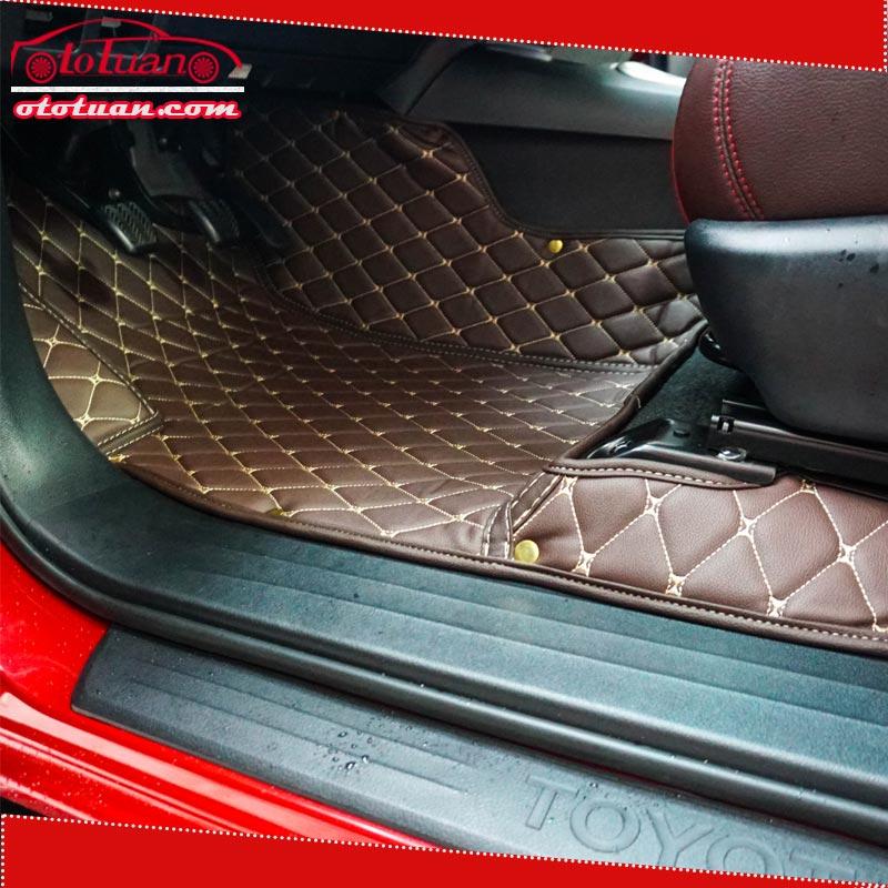 thảm lót sàn 5D xe toyota hilux