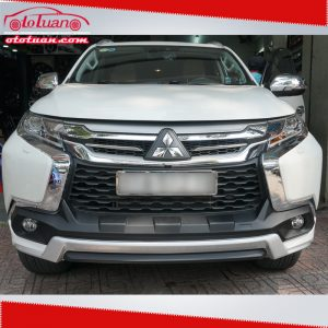 Lip pô body kit pajero sport 2017