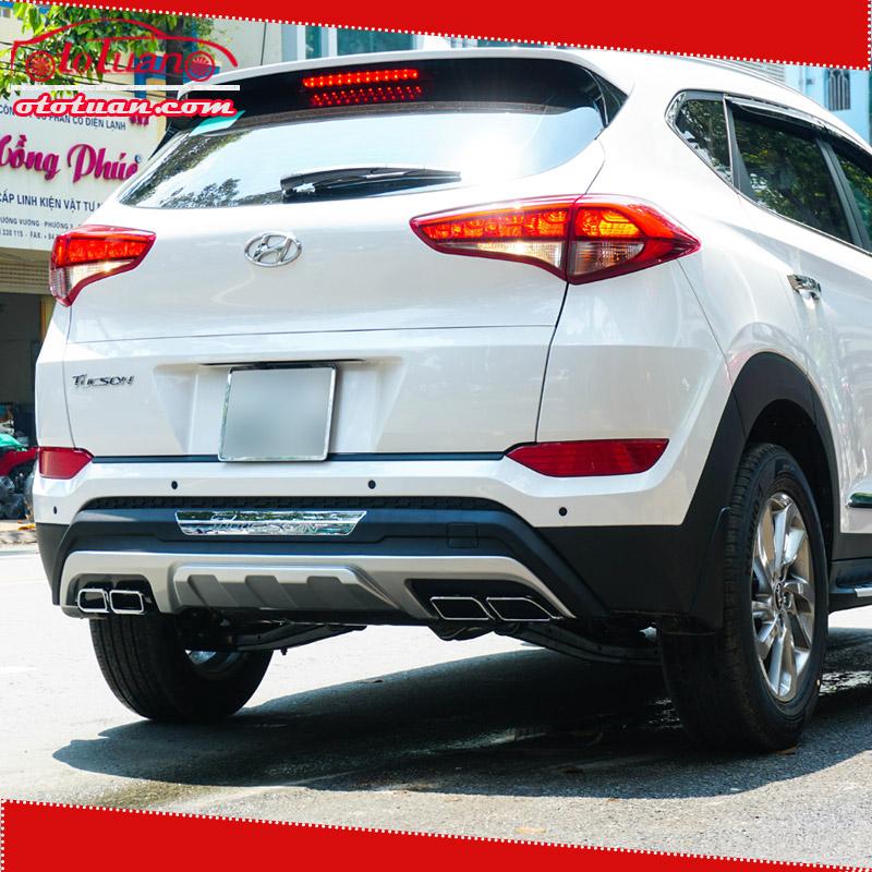 Ốp cản sau xe Hyundai Tucson 2018