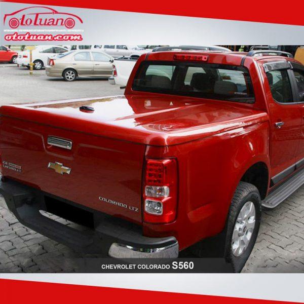 Nắp thùng xe bán tải Chevrolet Colorado SX