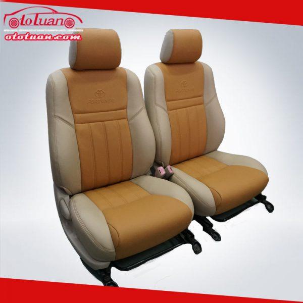 Bọc ghế da xe Fortuner 2010