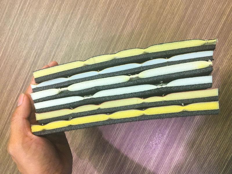 Cấu tạo của thảm lót sàn 5D
