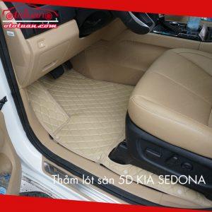 Thảm lót sàn 5D xe KIA Sedona