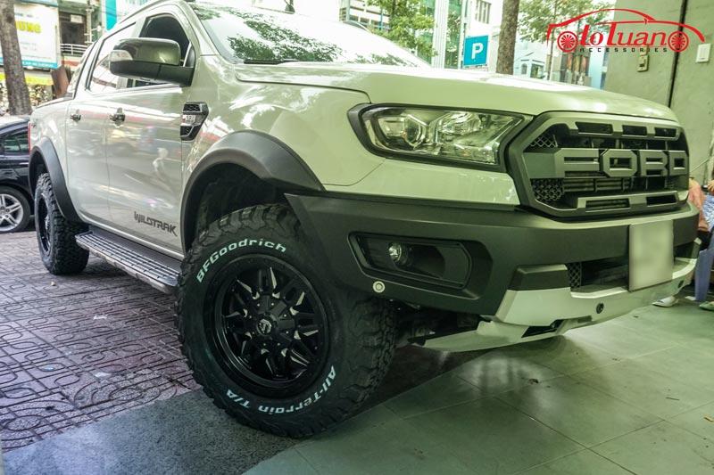 Mâm vỏ độ xe Ford Ranger