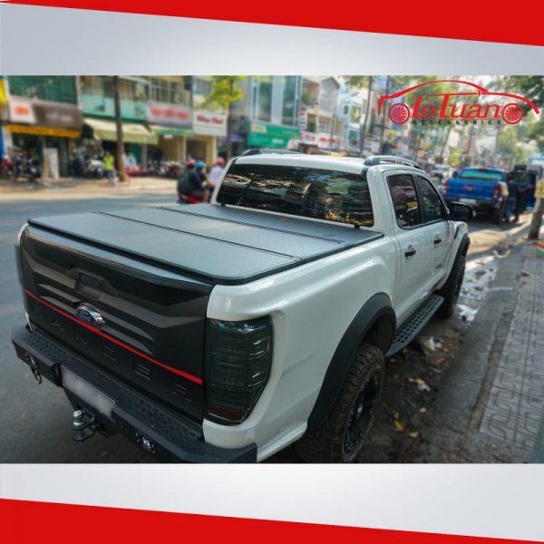 Nắp thùng xe bán tải Ford Ranger 3 khúc