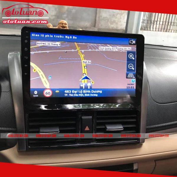 Màn hình android xe Toyota Vios 2019