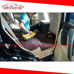 Lót sàn 5D xe Toyota Land Cruiser Prado 2019