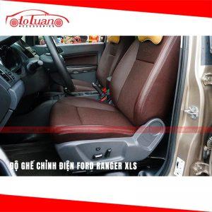 Độ ghế chỉnh điện xe Ford Ranger XLS