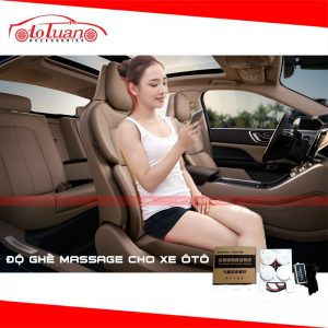 Độ ghế massage cho xe hơi