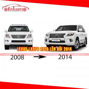 Lên đời Lexus LX570 2008 - 2010 thành 2014